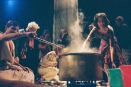Santanu Bose, Victoria Hunt, Kristina Harrison, photo: Mayu Kanamori